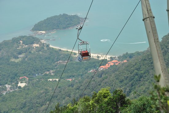Langkawi Sky Cab: cable car