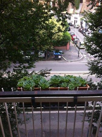 B&B Trastevere Rooms : Vista da varanda