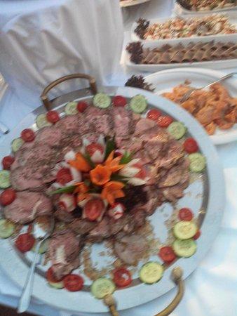 Club Med Palmiye: idée du buffet soirée blanche