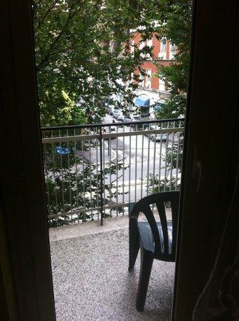 B&B Trastevere Rooms : Varanda