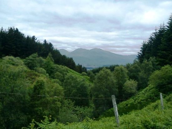 Breadalbane House: View to Ben Lawers