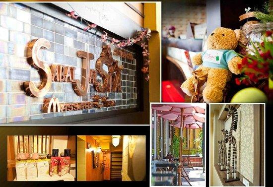 Sabai Sabai at Sukhumvit Hotel : Reception area & Spa