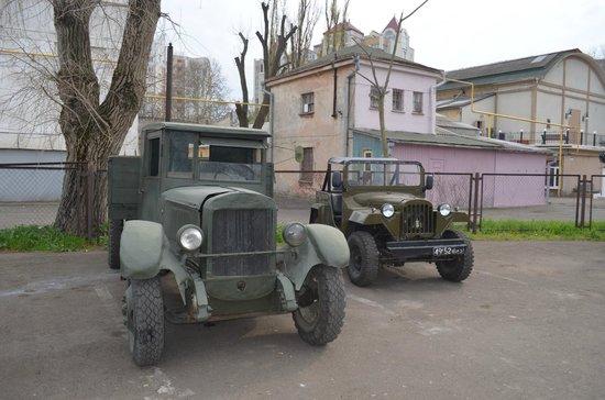 Odessa Film Studio : Автопарк киностудии