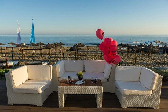 Puesta de sol picture of estrella del mar beach club marbella tripadvisor - Estrella del mar beach club ...