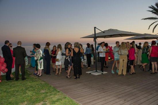 Sal n decorado especialmente para la cena picture of estrella del mar beach club marbella - Estrella del mar beach club ...