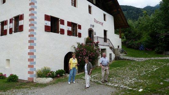 Thurnerhof: aankomst