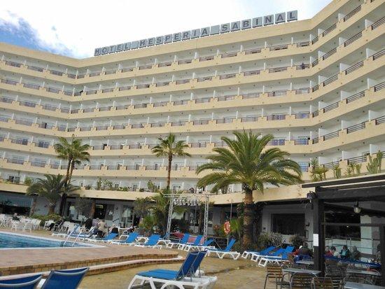 Best Sabinal: Hotel visto des de la piscina