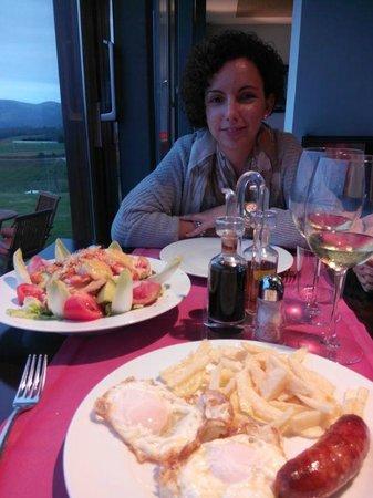 Hotel Rural 3 Cabos: La cena