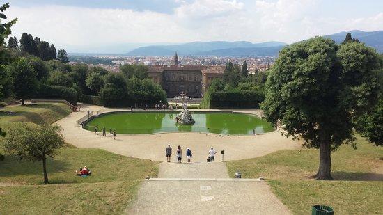 Galleria Palatina in Palazzo Pitti: Jardin Boboli