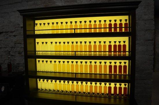 Shustov Cognac Winery Museum : Виды спиртов
