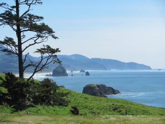 Ecola State Park: beginning of the hike