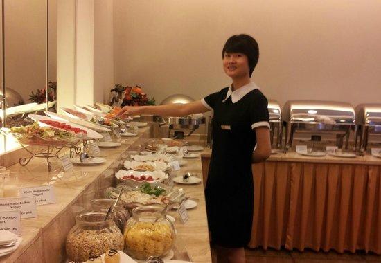 Lan Vien Hotel Hanoi : Friendly smile