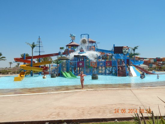 Jaz Makadi Saraya Resort: The waterpark- childrens part