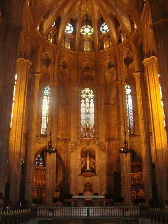 Catedral de Barcelona: Interno