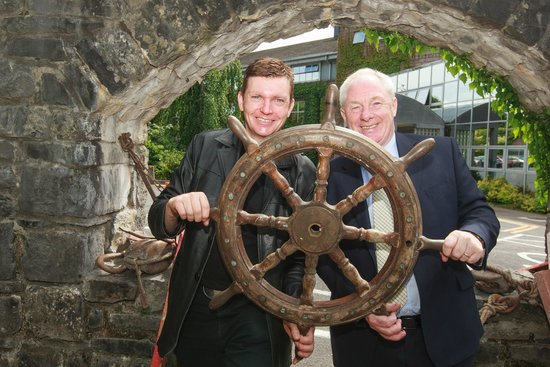 The Legend of Grainne Mhaol: Minister of State for Tourism and Sport Michael Ring TD and show performer James Kilbane