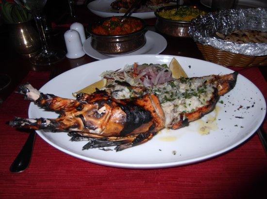 Happy Rajah : langouste grillée