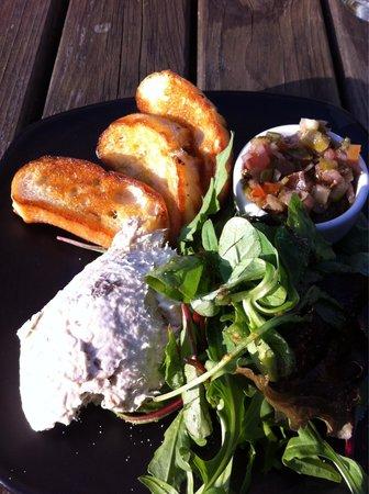 Browns Lane Bar and Restaurant: Mackerel pâté