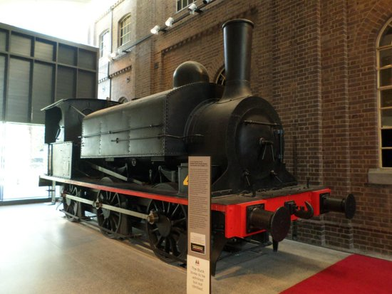 Newcastle Museum: Steam Engine