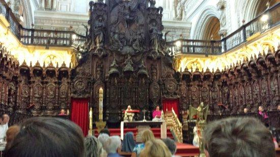 Mezquita-Catedral de Córdoba: Eucaristía en la Mezquita Catedral de Cordoba