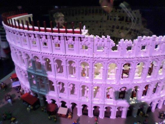 Newcastle Museum: Lego Colosseum (special event)