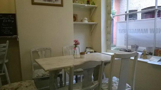 The Tea House: table