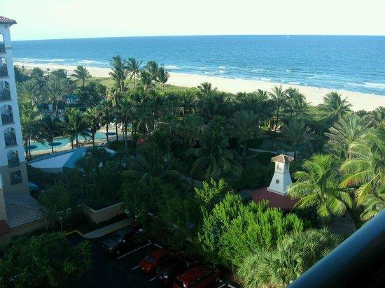 Marriott's Oceana Palms: View from balcony