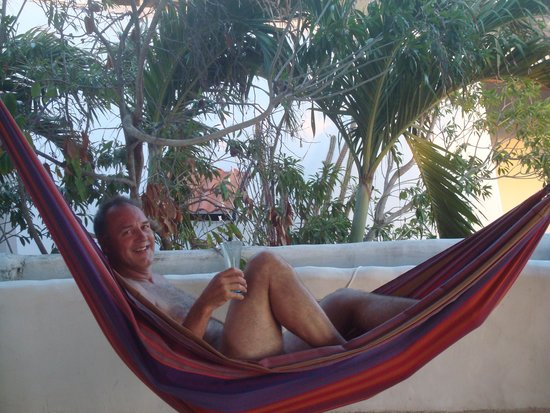 Blenchi: In our private hammock