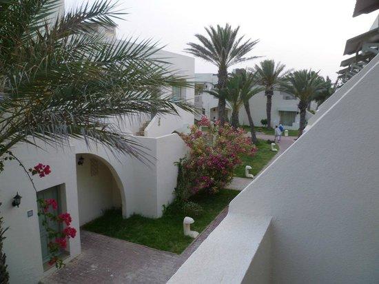 Club Diana Rimel Djerba: `vista dal balconcino