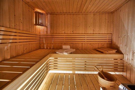 Les Chalets de Rosael: Sauna - Chalet Mouflon