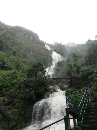Thac Bac Waterfall (Silver Falls) : Silver Waterfall