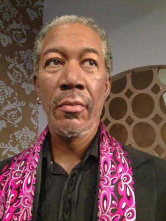 Madame Tussauds London: Morgan Freeman var en av de bästa