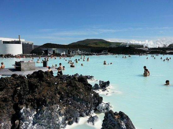 Blue Lagoon Iceland : View of Blue Lagoon