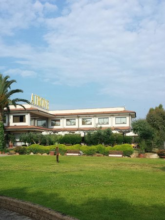 Hotel Airone del Parco & delle Terme: Reception, sala conferenze e sala colazione