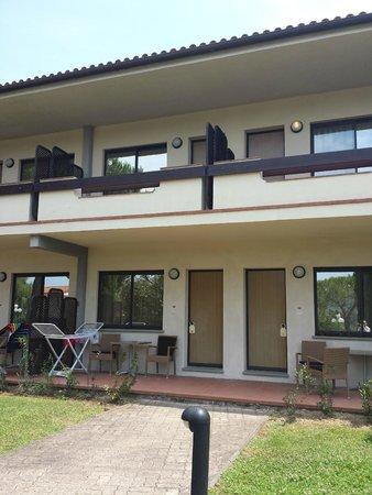 Hotel Airone del Parco & delle Terme : Fronte delle camere