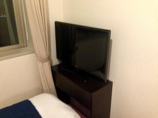 Hearton Hotel Higashishinagawa: テレビ