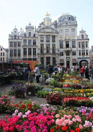 Flower Market Grand Place