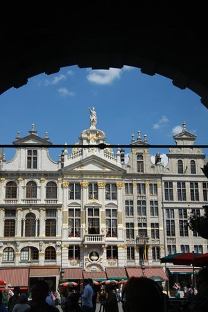 View across the Grand Place