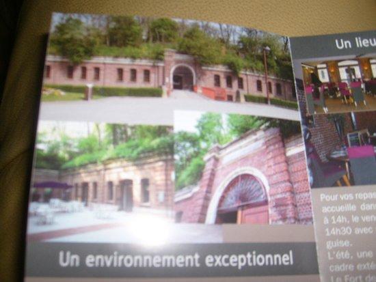 Le Fort : restaurant fort de maons