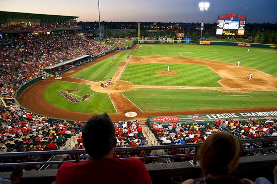 Springfield Cardinals Baseball Action