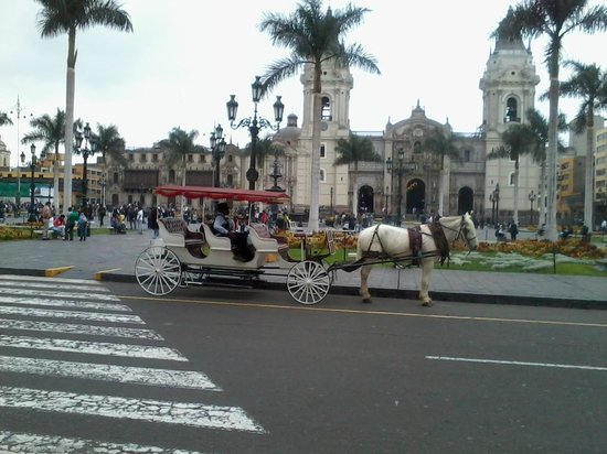 Plaza de Armas (Plaza Mayor): May 2014