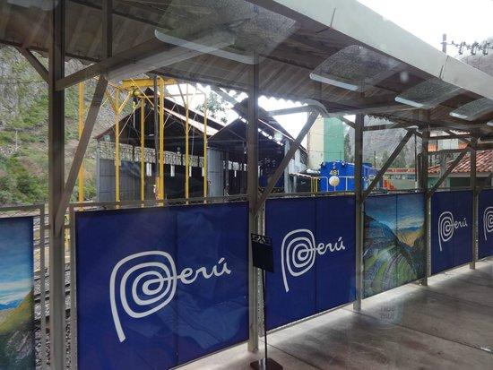 PeruRail - Vistadome: Esrtacion