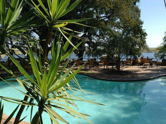 The David Livingstone Safari Lodge & Spa: The David Livingstone Hotel and Spa Pool