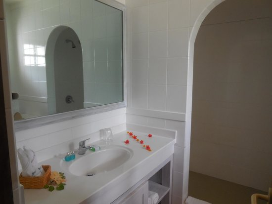 Indian Ocean Lodge: bagno
