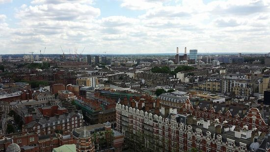 Westminster Cathedral : The view from the tower