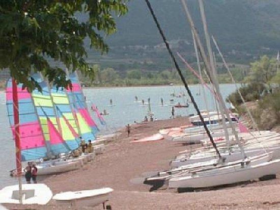 Lodeve, France: Base Nautique du lac du Salagou