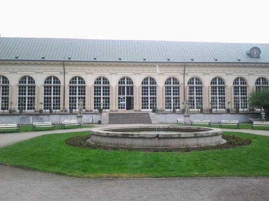Parc Łazienki : Pomarańczarnia