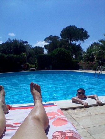Grand Hotel Golf: la piscina