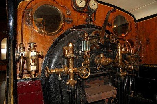 National Railway Museum: Bediening van de stoomlocomotief