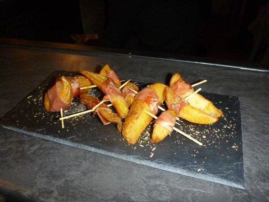 Le Clandestin : Potatoes au jambon