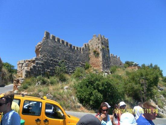 Alanya Kalesi (Castle): крепость Аланьи